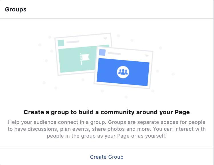 Reach people with Facebook groups